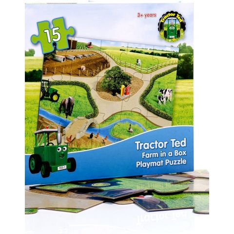 Tractor Ted Playmat Puzzle N/A N/A