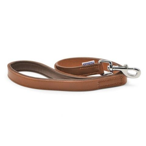 Ancol Vintage Leather Dog Lead