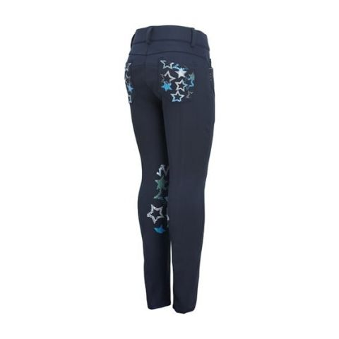 Montar Childrens Knee Grip Breeches with Stars