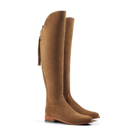 Fairfax & Favor Ladies Amira Flat Suede Boots