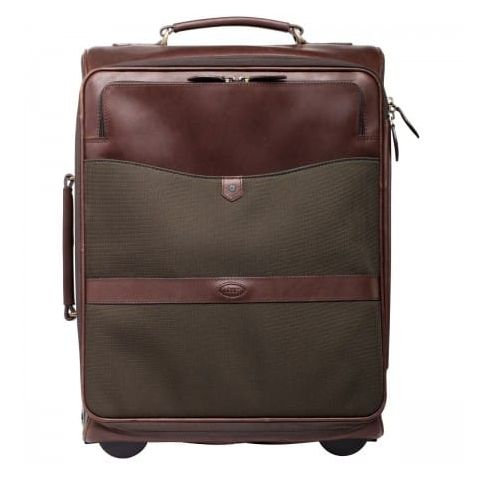 Dubarry Unisex Gulliver Leather Carry On Trolley Case