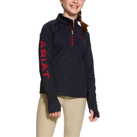 Ariat Girls TEK Team 1/2 Zip Sweatshirt