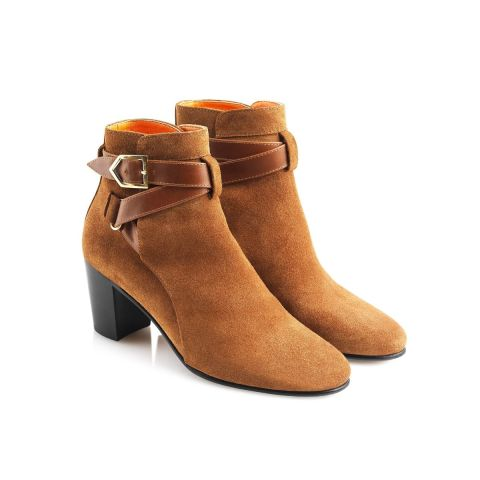 Fairfax & Favor Ladies Kensington Suede Ankle Boots