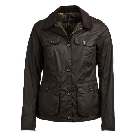 Barbour Ladies Nidd Wax Jacket