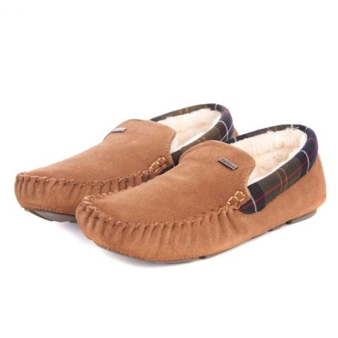 Barbour Mens Monty Moccasin Slipper