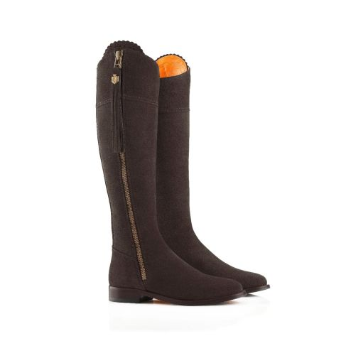 Fairfax & Favor Ladies Flat Regina Suede Boots
