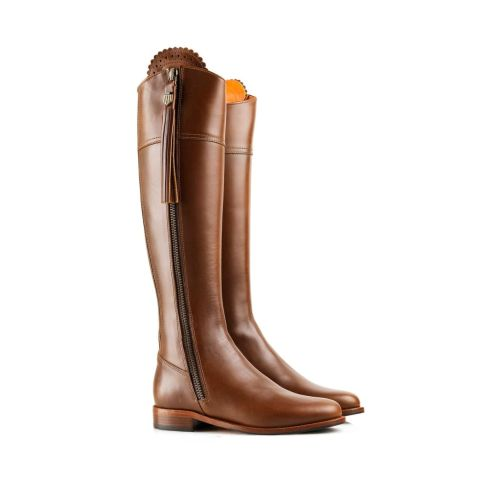 Fairfax & Favor Ladies Flat Regina Leather Boots