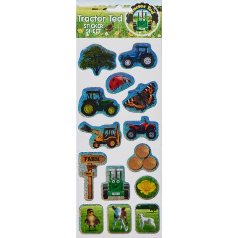 Tractor Ted Farm Stickers