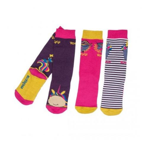 Toggi Childrens Aletha Pack of Three Socks