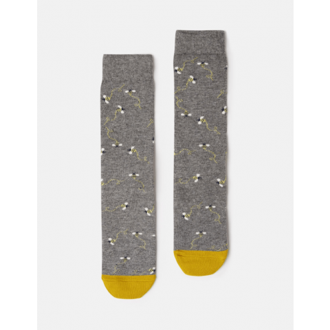 Joules Ladies Christmas Bamboo Single Socks